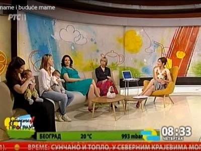 Jutarnji program RTS - Bebe, Mame i Buduće Mame